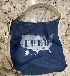 Vintage Feed USA For Gap Bag Heavy Canvas Bucket Tote Purse New With Tags $45.00