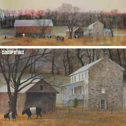 50wx18h In From The Fields By Peter Sculthorpe - Farm Land Choices Of Canvas
