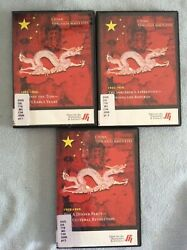 China 🇨🇳 Through Maoandrsquos Eyes Films For Humanities And Sciences 3 Dvds Like New