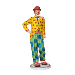 Clown Life Size Statue Circus Carnival Prop Display Funny Decor
