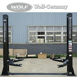 2 Colonnes Plateforme 4000kg Kfz Pkw Atelier Stage Top Offre Wolf-germany