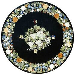 Marble Coffee Table Top Pietra Dura Art Exclusive Patio Table With Antique Work