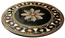 Marble Coffee Table Top Mosaic Art Dining Table Top With Inlay Work Handicrafts
