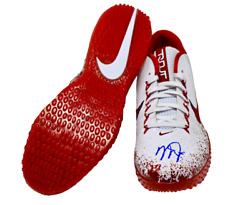 Mike Trout Los Angeles Angels Signed Real Game Issued Turf Shoes Mlb Authentic