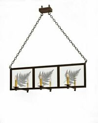 47 Talamo Chandelier Clear Glass And Electrical W/ Bronze Finish