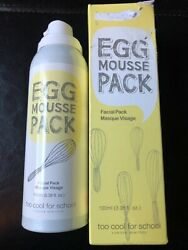 Too Cool For School Egg Mousse Facial Pack 3.38oz $7.19