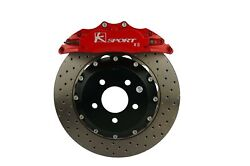 Ksport Big Brake Kit Front 356mm With 8pot Red Caliper For Fg Falcon