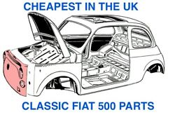 Classic Fiat 500 Parts   Body Interior Electrical Wheels Engine + More New