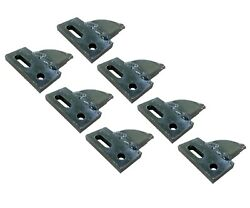 7 Center Cut, Bolt On, Carbide Teeth, T165404c For Many Small Chain Trenchers