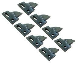 8 Center Cut, Bolt On, Carbide Teeth, T165404c For Many Small Chain Trenchers