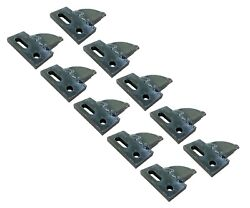 10 Center Cut, Bolt On, Carbide Teeth, T165404c For Many Small Chain Trenchers