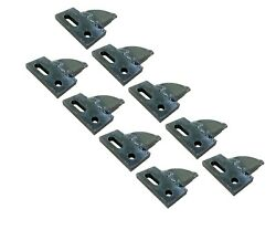 9 Center Cut, Bolt On, Carbide Teeth, T165404c For Many Small Chain Trenchers