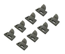 8 L.h. 4 Cut, Bolt On, Carbide Tooth, T165404l For Many Small Chain Trenchers
