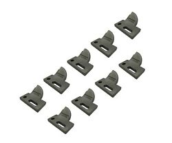 9 L.h. 4 Cut, Bolt On, Carbide Tooth, T165404l For Many Small Chain Trenchers