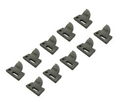 10 L.h. 4 Cut, Bolt On, Carbide Tooth, T165404l For Many Small Chain Trenchers
