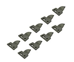 9 R.h. 4 Cut, Bolt On, Carbide Teeth, T165404r For Many Small Chain Trenchers