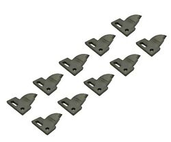 10 R.h. 4 Cut, Bolt On, Carbide Teeth, T165404r For Many Small Chain Trenchers