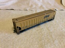 Athearn Ho Scale Bluebox Bev-bel Covered Hopper,toledo,peoria And Western.
