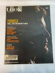 Look Magazine Vintage August 101971 Kennedyand039s Comeback Will He Or Wonand039t He...
