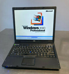 Hp Business Pent-m Commercial Laptop Windows 2000 Win2k Embroidery Grade A Warr