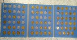 64 Coin Set 1909-1940 Lincoln Wheat Penny Cent - Early Dates Collection 272