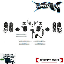 Fabtech 5 Lift Kit System W/ Coil Springs And Shocks For 2014-2018 Ram 2500