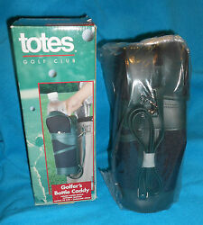 Totes Golf Club Golfers Bottle Caddy Bag Gifts For Him $6.00