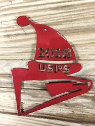 United States Postal Service Christmas Tree Ornament Gift For Usps Cnc Cut Metal