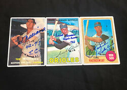 Triple Crown Signature Series Ceramic Cards Collection Williams Robinson Yaz