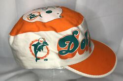Vintage Nfl Miami Dolphins Ajd Cotton Hat 1980's Rare Usa Made Only 1 On Ebay 🔥