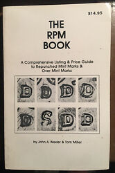 The Rpm Book Wexler And Miller 1st Edition Repunched Mint Marks New Mint Copy