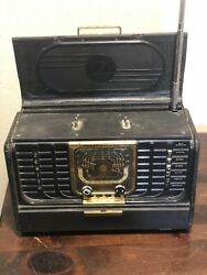 Vintage Zenith Transoceanic Radio 8g005yt For Parts