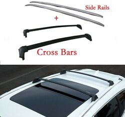 Fit Honda Crv Cr-v 2020 Roof Rack Side Rail Cross Bar Kit 4andtimespcs