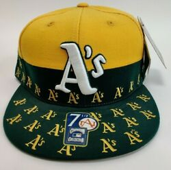 Oakland Athletics American Needle Cooperstown Snapback Hat Cap Size 7 1/2 7 3/4