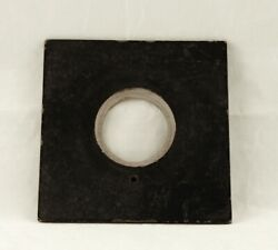 Genuine Antique Wood Lens Board Burke And James 5x7 View Camera