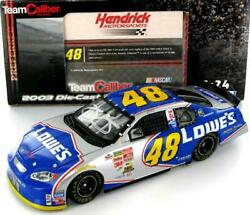 Jimmie Johnson 48 Lowes 2003 Monte Carlo