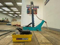 Pulling Post Frame Straightener Frame Machine Free Clamps And 3 Ton Air Jack