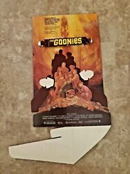 The Goonies Unassembled 1985 Complete Counter Display/standee W Instructions