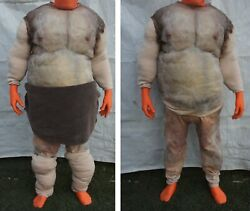 Male Fat Suit Movie Prop Professional Quality Padding Costume Outfit Halloween