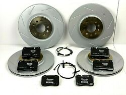 Aston Martin Db9 And V8 Vantage Front And Rear Brake Pads And Rotors Set - Genuine