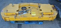 Xr-7 7 Foot Lawn Mower Deck Tractor Needs Parts - Rare - No Free Ship