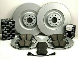 Bentley Continental Gt And Flying Spur Front And Rear Brake Pads And Rotors Set