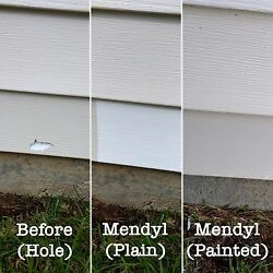 Mendyl Vinyl And Stucco Siding Repair Kit-free Shipping-how To Video In Listing