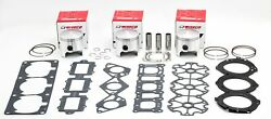 Yamaha Lx210 And Ls210 2003-2005 Wiseco .020 Pistons/gaskets - Wk1313