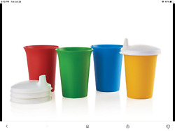 New Tupperware Childrenandrsquos Bell Tumblers And Sippy Seals. 8 Pc. Fast Ship