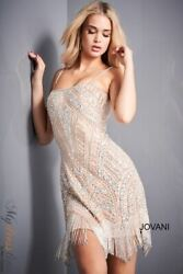 Jovani 4018 Short Cocktail Dress Lowest Price Guarantee New Authentic