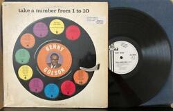 Benny Golson Take A Number From 1 To 10orig 1961 Uk Pye Jazz White Label Lpbop