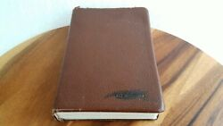 1967 New Scofield Reference Edition Holy Bible Concordance Oxford Kjv Leather