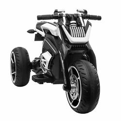 12V Three wheeled Ride on Battery Powered Motorcycle for Kids 3 6 Years Horn MP3 $133.99