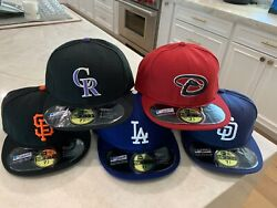 Authentic Hat Collection 59fifty Mlb New Era Cap Size 7 5/8 Usa